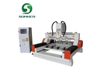 SM1315 Rotary CNC Router 4 Axis With Four Heads